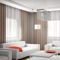 Living Room Curtains Plan